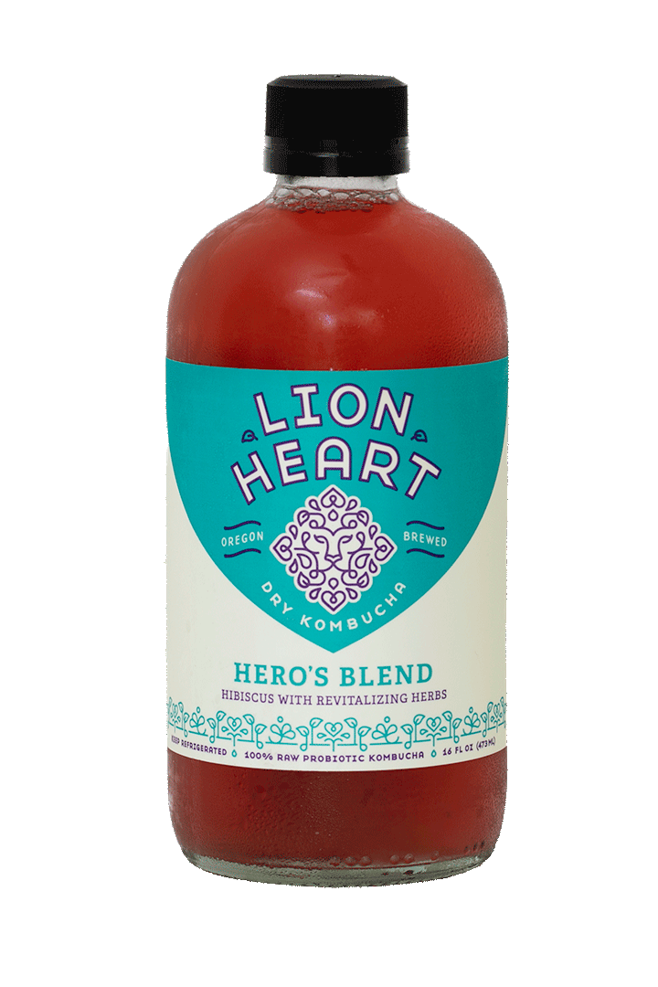 Lion Heart Kombucha Hero's Blend