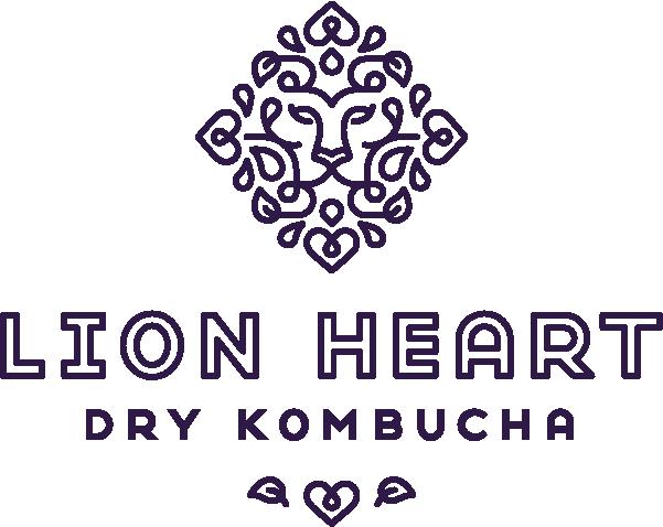 Lion Heart Kombucha logo Portland, OR